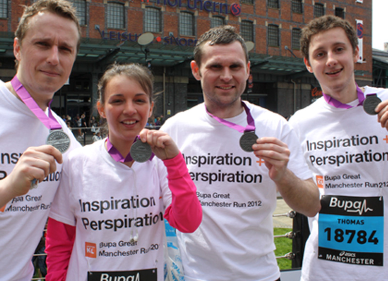 K2L at Great Manchester Run