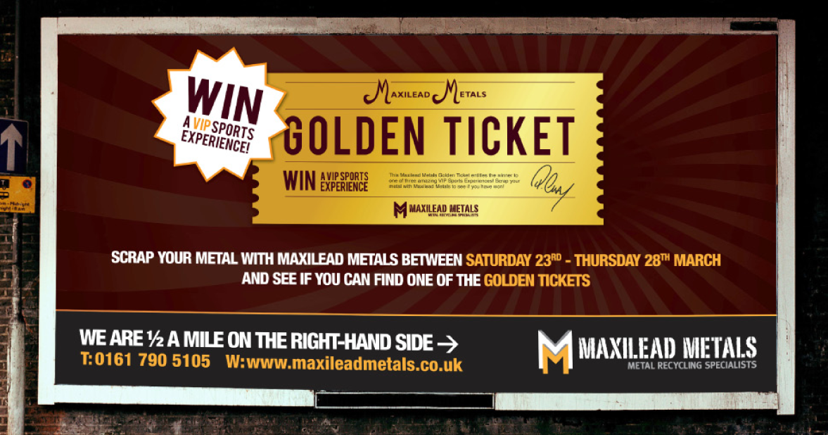 Maxilead Golden Ticket portfolio image